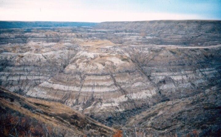 Horseshoe Canyon Alberta Nov 1988
