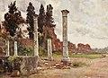 House of Domitian on Palatine hill by Alberto Pisa (1905).jpg