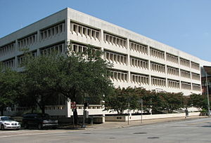 Houston City Council - The Houston City Hall Annex in Downtown Houston houses the Administrative Office of City Council (AOCC)