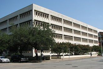 Houston City Hall - City Council Member offices located at City Hall Annex