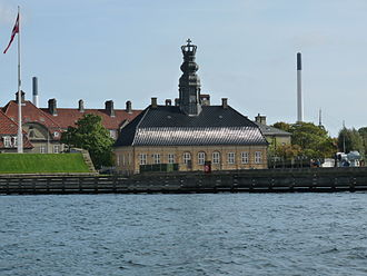 Holmen, Copenhagen - Nyholm Central Guardhouse