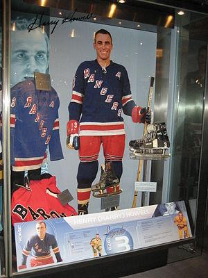 Harry Howell (ice hockey) - Howell at the Hockey Hall of Fame.
