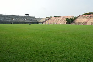 Howrah Municipal Corporation Stadium - Image: Howrah Municipal Corporation Stadium Howrah Maidan Area Howrah 2013 04 28 6475