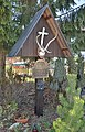 Hubertus cross of Jagdgesellschaft Rabenstein.jpg