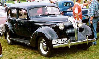 Terraplane - 1938 Terraplane 4-Door Sedan