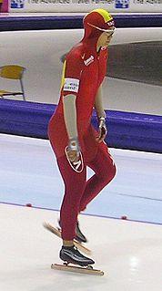Ren Hui Chinese speed skater