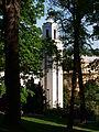 Husův sbor (Santoška) věž shora 2.JPG