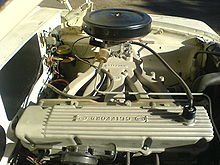 chrysler slant 6 engine reproduction hyper pak intake on a slant 6 engine