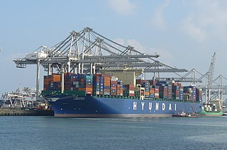<i>Hyundai Pride</i> container ship