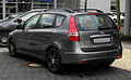 Hyundai i30cw 1.6 CRDi Edition20 (I, Facelift) – Heckansicht, 25. Februar 2012, Düsseldorf.jpg