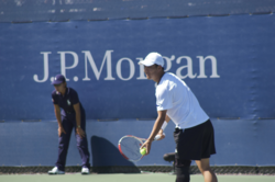 Hyung Taik Lee at the 2008 US Open