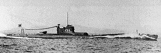 Submarines of the Imperial Japanese Navy - I-25 Type B1 submarine.