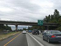 I-5 south at WA-516, Kent.jpg