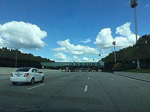 Interstate 95 in Delaware - Newark Toll Plaza
