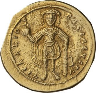 Isaac I Komnenos - Gold tetarteron of Isaac I Komnenos