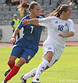 Iceland - Serbia-2011 FIFA Women's World Cup qualification UEFA Group 1 (3829200629).jpg