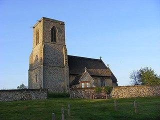 All Saints Church, Icklingham Church in Suffolk, England