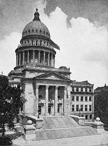 The first run at the capitol - 1919
