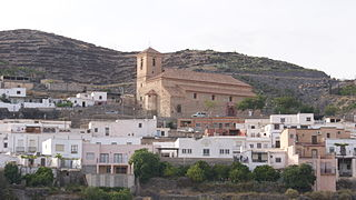 Gérgal Place in Andalusia, Spain