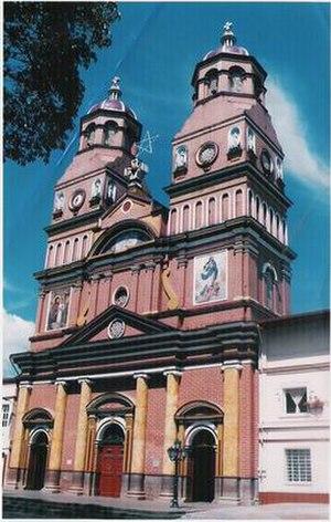 Amalfi, Antioquia - Image: Iglesia amalfi antioquia