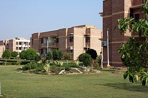 Kanpur Institute of Management Studies on NH 25 in southern city.