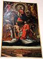 Ilario casolani, madonna in gloria e santi con la veduta di grosseto, 1630.JPG
