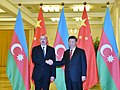 Ilham Aliyev met with Chairman of People's Republic of China Xi Jinping in Beijing 02.jpg