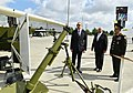 Ilham Aliyev viewed 3rd Azerbaijan International Defense Exhibition ADEX 2018 06.jpg