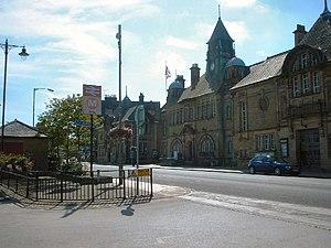 Ilkley - Image: Ilkley Town Hall