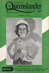 Illustrated front cover from The Queenslander, December 1, 1937 (12468547293).jpg