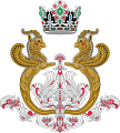Imperial Arms of the Shahbanou of Iran.svg