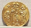Impero romano d'oriente, eraclio, eraclio costantino ed eracleone, emissione aurea, 638-641, 01.JPG