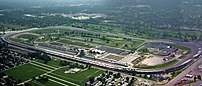 Indianapolis Motor Speedway. Two drivers have ...