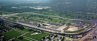1987 Pan American Games - Opening ceremonies and speed roller skating were held in the Indianapolis Motor Speedway.