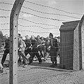 In het strafkamp te Vught, zijn 7000 Nederlandse collaborateurs en landverraders, Bestanddeelnr 900-4262.jpg