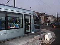 Inauguration de la branche vers Vieux-Condé de la ligne B du tramway de Valenciennes le 13 décembre 2013 (005).JPG