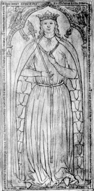Ingeborg of Denmark, Queen of France - Image: Ingeborg of denmark