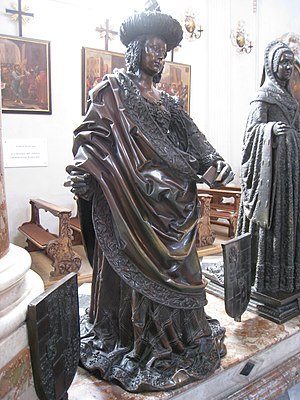 Cymburgis of Masovia - Statue of Cymburgis at the Innsbruck Hofkirche