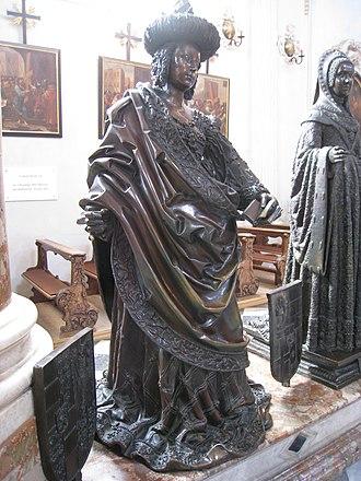 Cymburgis of Masovia - Statue of Cymburgis at the Innsbruck Hofkirche