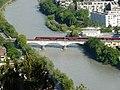 Innsbruck railway bridge over river 2019 3.jpg