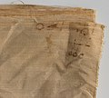 Inscribed Linen Sheet from Tutankhamun's Embalming Cache MET DP226085.jpg