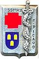 Insigne régimentaire 351e hôpital des armées Francis Picaud.jpg