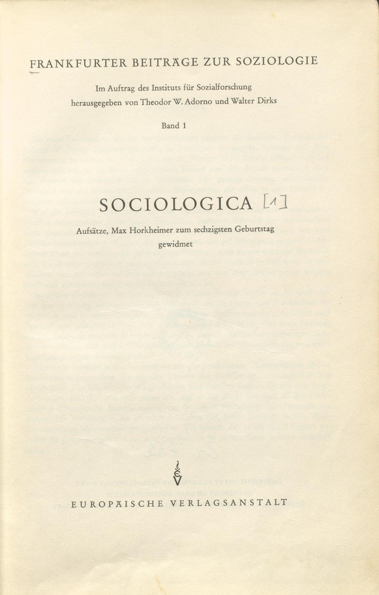 Dieses Bild hat ein leeres alt-Attribut; sein Dateiname ist 1280px-Institut_f%C3%BCr_Sozialforschung_Sociologica_1955_Titel.jpg.