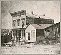 Intelligencer building at 1st and Cherry, circa 1876 (MOHAI 9513).jpg
