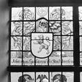 Interieur, gedeelte van gebrandschilderd raam - Bloemendaal - 20400093 - RCE.jpg