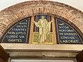 Interior Courtyard Mosaic at Sant'Anselmo.jpg