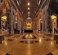 Interior of Saint Peter's Basilica 01.jpg