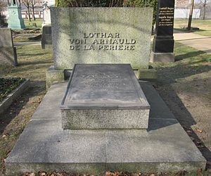 Lothar von Arnauld de la Perière - Grave in the Invalidenfriedhof in Berlin