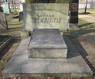 Lothar von Arnauld de la Perière - Grave in the Invalidenfriedhof in Berlin