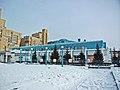 Irkutsk. February 2013. Barguzin, regional court, bus stop Volga, Diagnostic Center. - panoramio (14).jpg